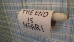 the end wc papir
