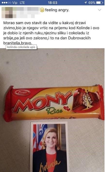 kolinda cokolada