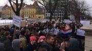 hrvatski studiji prosvjed sveučilište