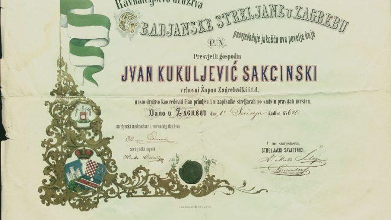 kukuljevic-diploma