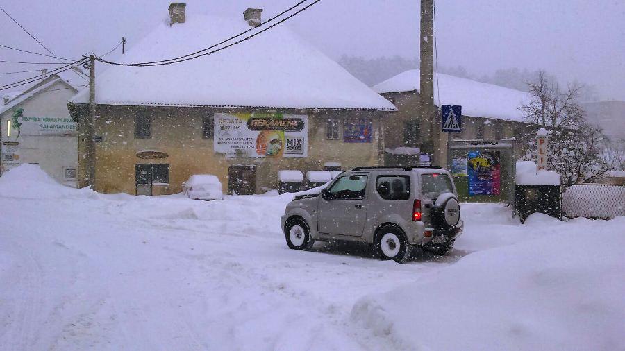 snijeg otocac