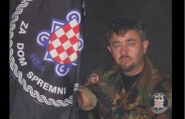 HOS-ovac Damir Markuš javio se iz Jasenovca: Ako skinu ploču ...
