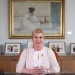 VIDEO Predsjednica na obljetnicu velikog uspjeha Vatrenih pozvala na obilježavanje tog povijesnog dana