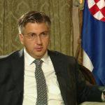 Plenković za Hrvatski radio: Koalicija stabilna, ali ne znam što će Pupovac reći na presici